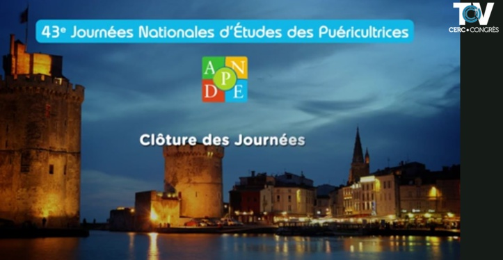 Clôture des 43emes Journées Nationales ANPDE - La Rochelle 2018