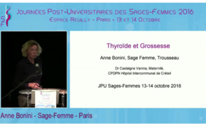 Thyroïde et grossesse - A Bonini