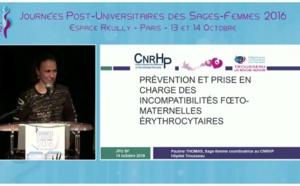Prévention et prise en charge de l'incompatibilité foeto-maternelle érythrocytaire - P Thomas