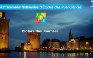 43èmes Journées Nationales d'Études des puéricultrices - La Rochelle - 13 - 14 - 15 juin 2018