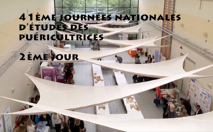 Vidéo de la seconde journée des 41èmes Journées Nationales d'Etudes des Puéricultrices à Poitiers
