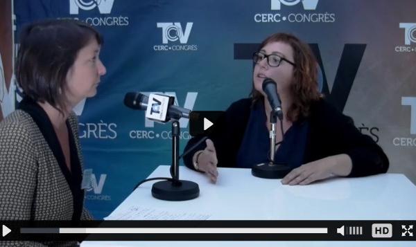 CERC•CONGRES TV - Interview d'Audrey DEMEILLEZ (Etampes)