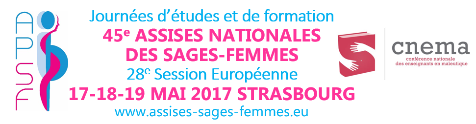 Assises nationales des sages femmes à Strasbourg - 17-18-19 mai 2017
