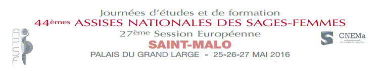 Assises nationales des sages femmes à Saint Malo - 25-26-27 mai 2016